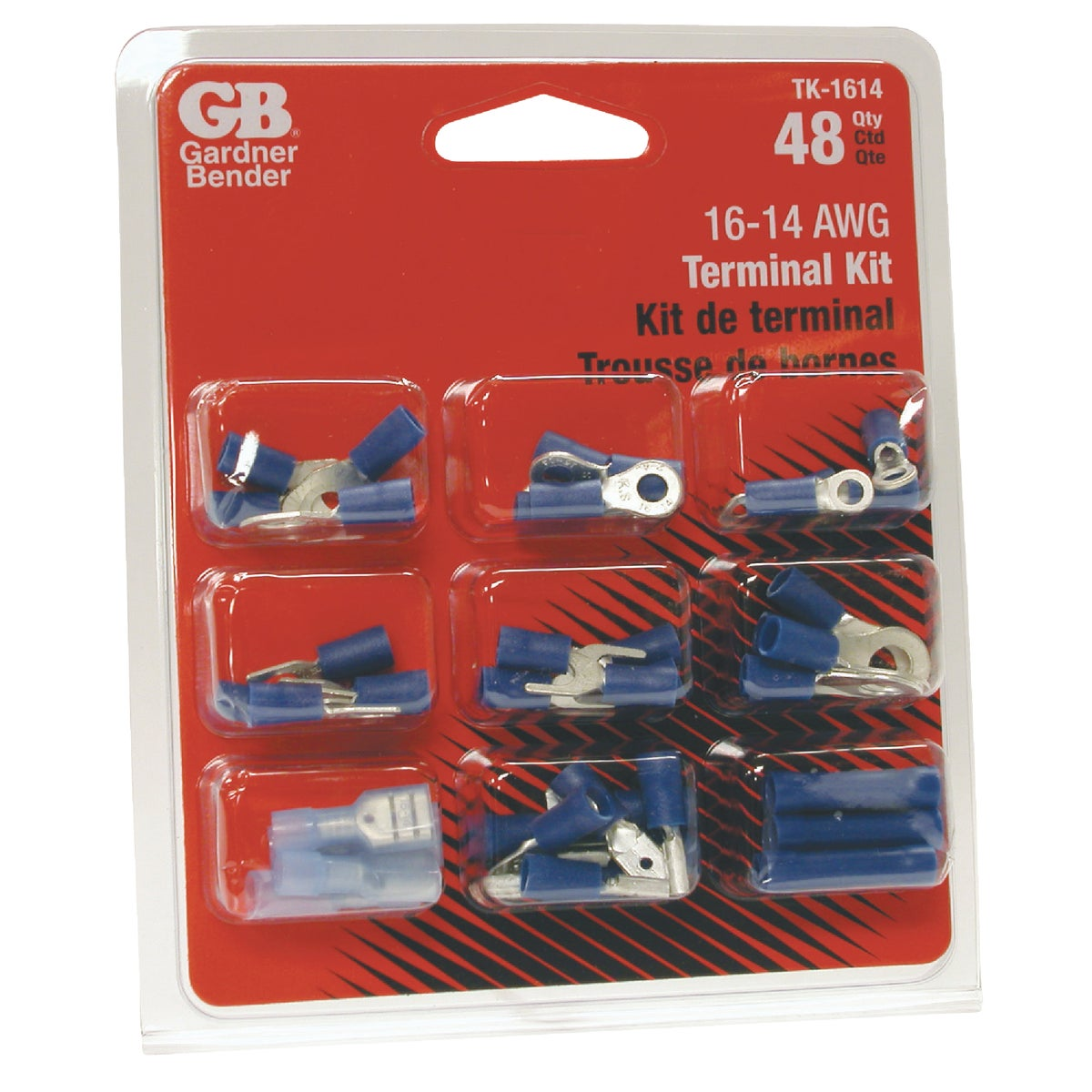 14-16 AWG TERMINAL KIT - TK-1614 by G B Electrical Inc