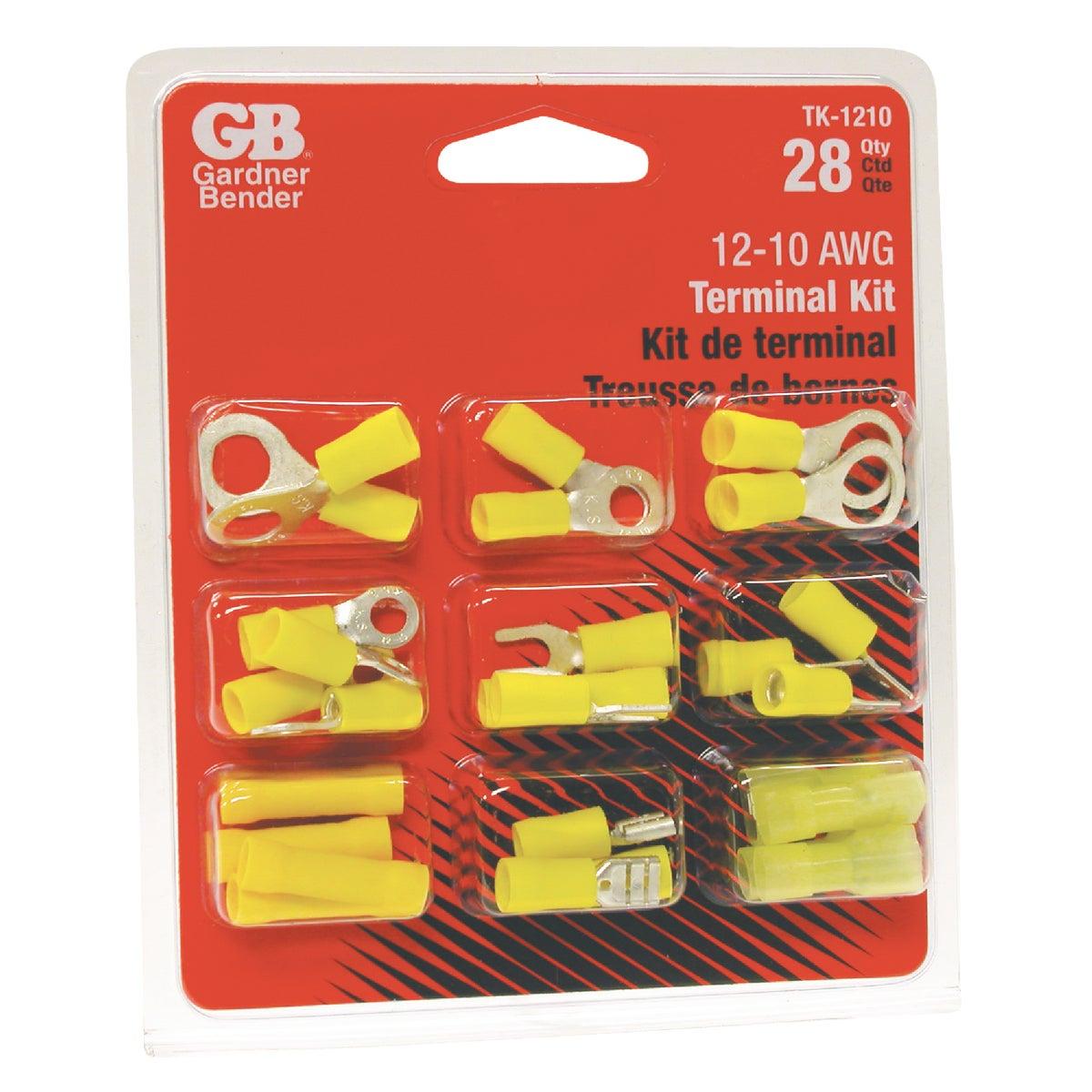12-10 AWG TERMINAL KIT - TK-1210 by G B Electrical Inc