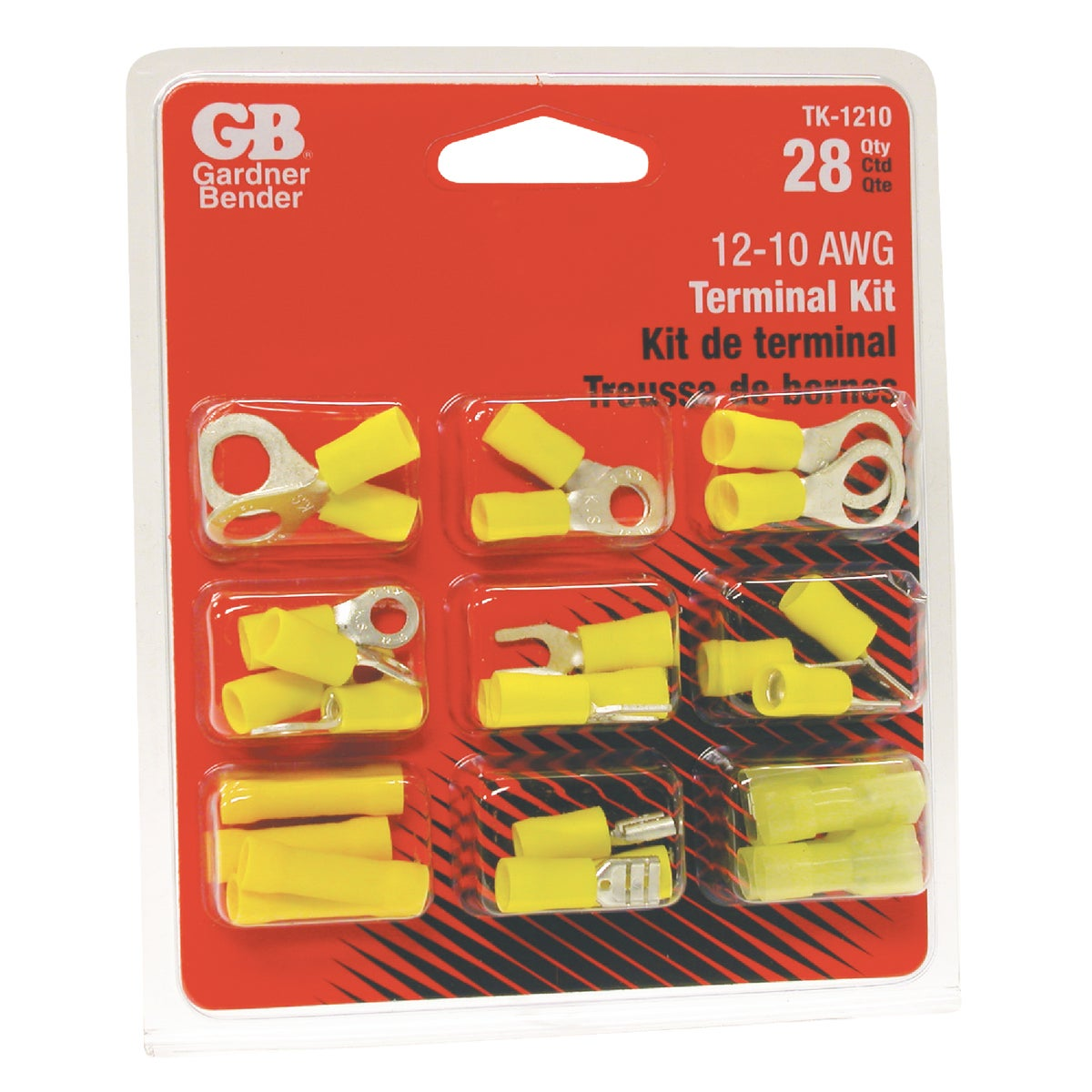 GB Electrical 12-10 AWG TERMINAL KIT TK-1210