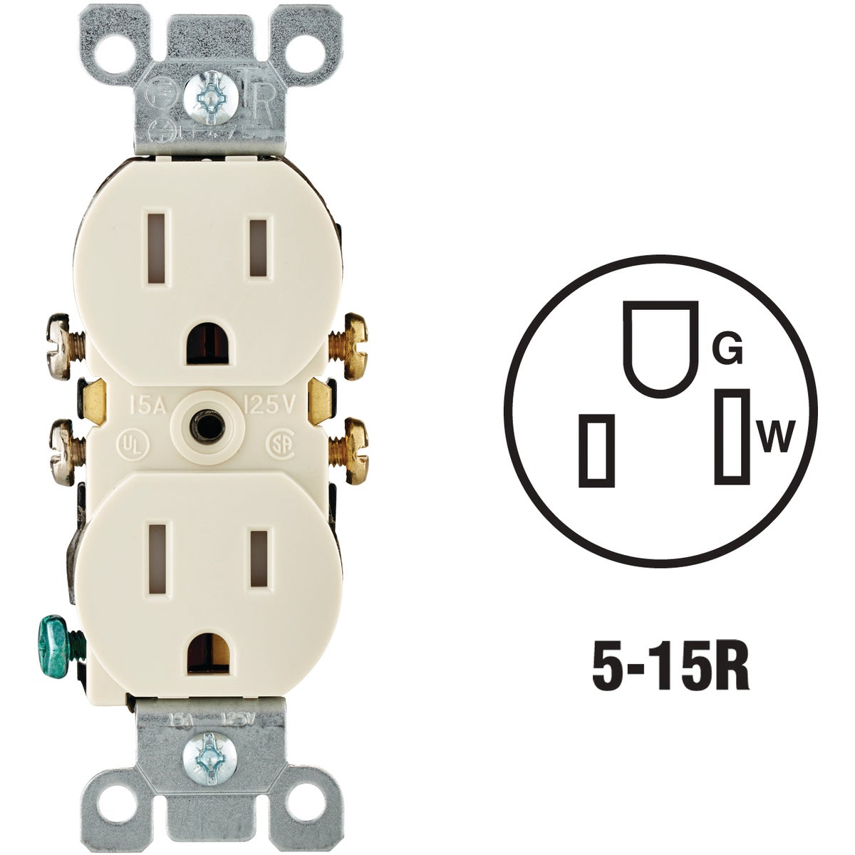 LT ALM TMPR DPLX OUTLET - N04-T5320-00T by Leviton Mfg Co