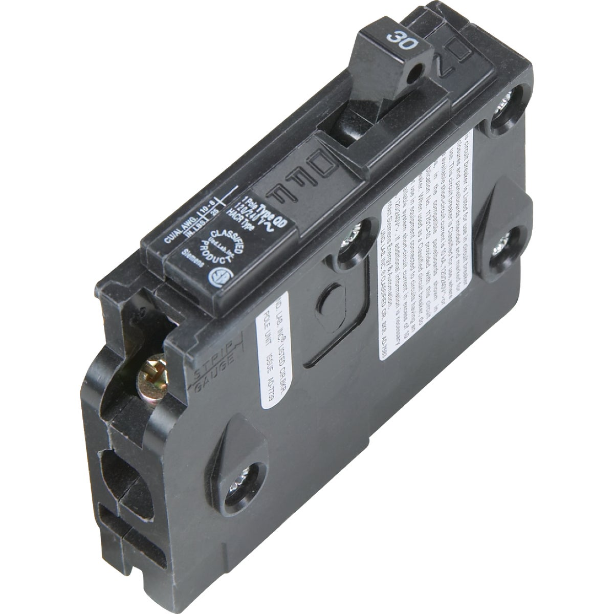 30A SP CIRCUIT BREAKER - D130 by Connecticut Electric