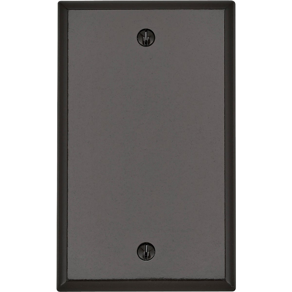 BRN BLANK WALL PLATE - 85014 by Leviton Mfg Co