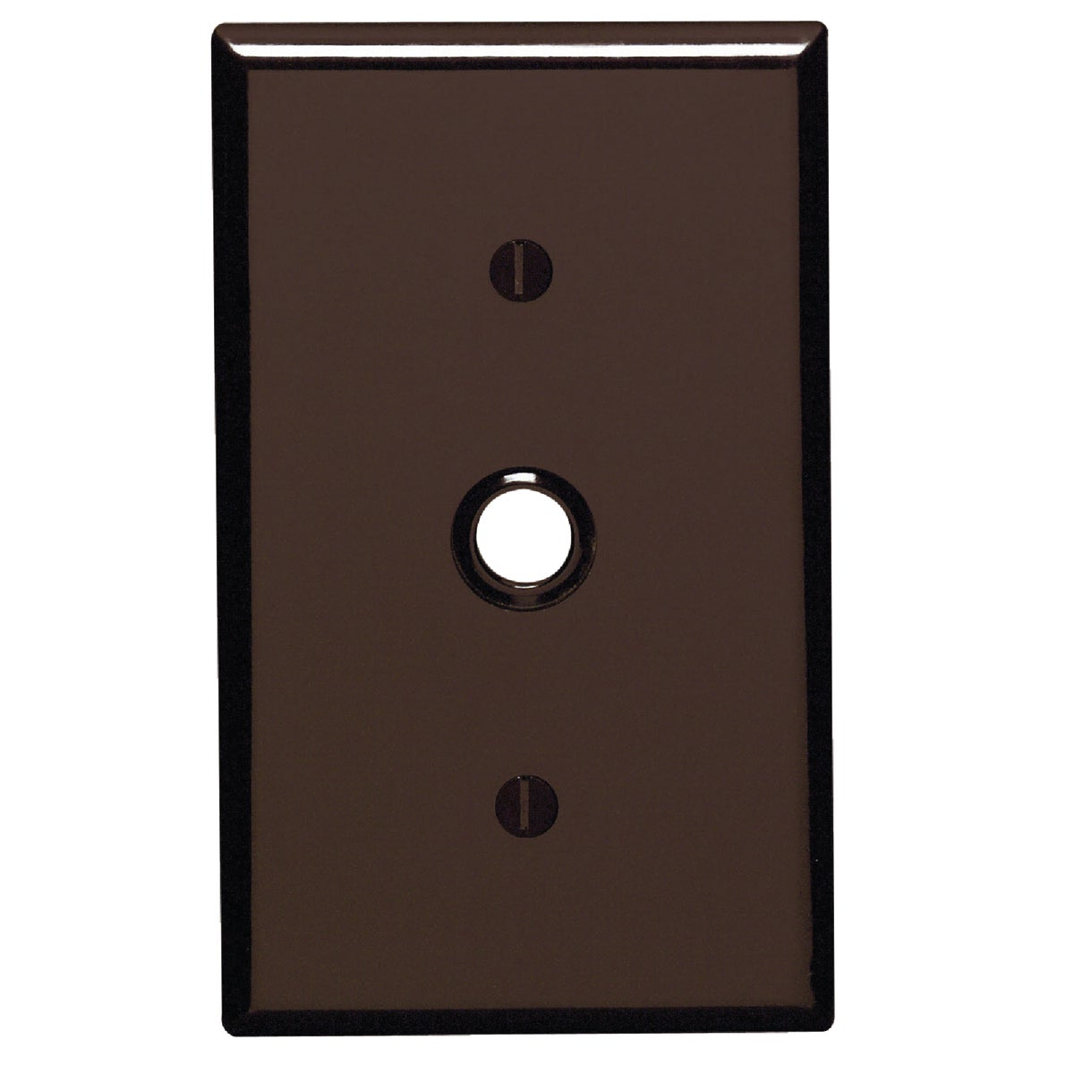 BRN PHONE WALL PLATE - 85018 by Leviton Mfg Co