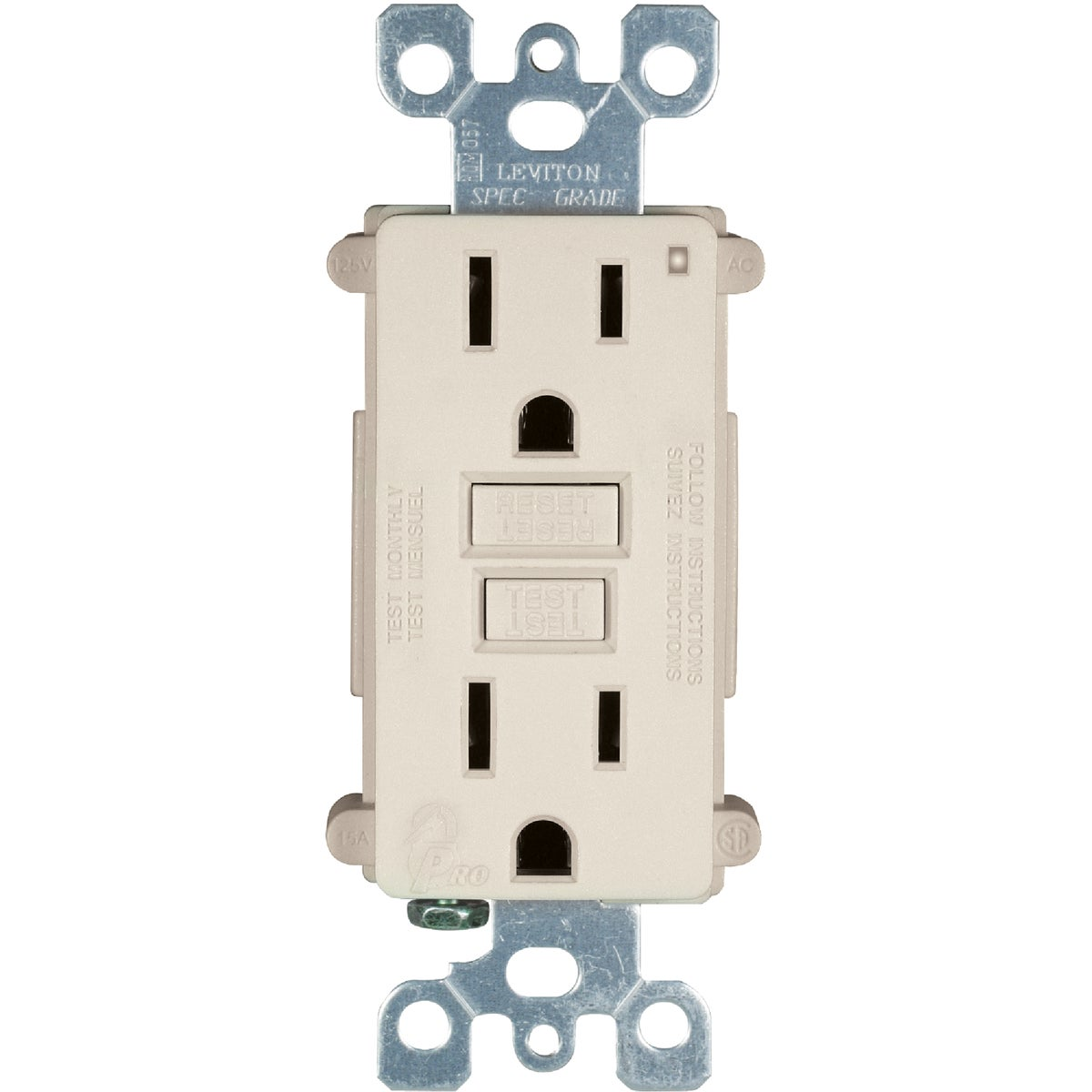 LT ALM 3 PACK 15A GFCI - M06-X7599-3T by Leviton Mfg Co