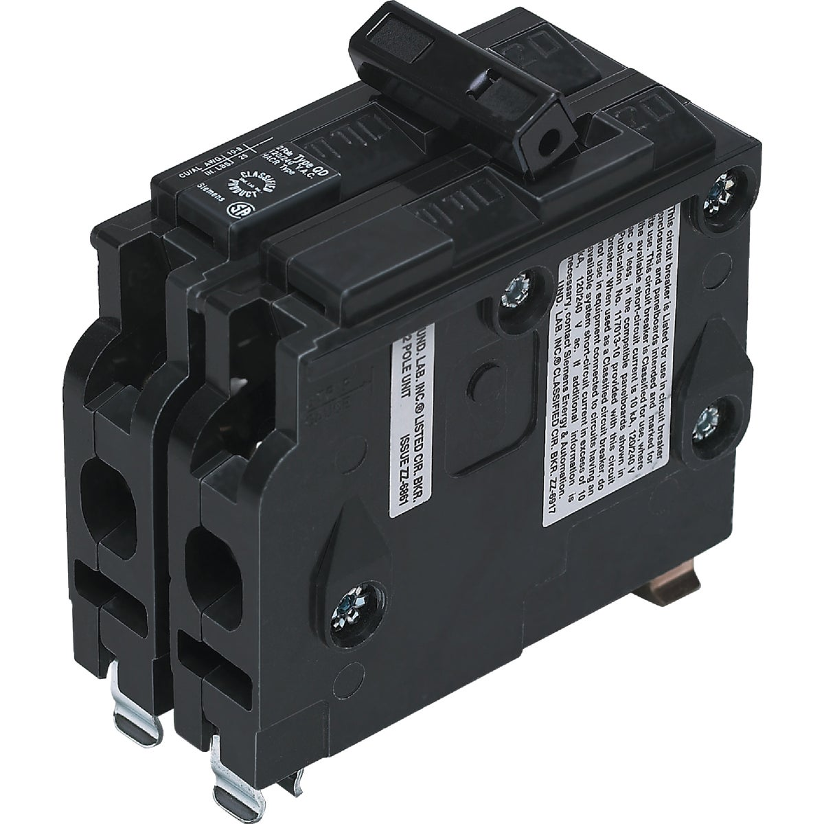 20A 2P CIRCUIT BREAKER - D220 by Connecticut Electric
