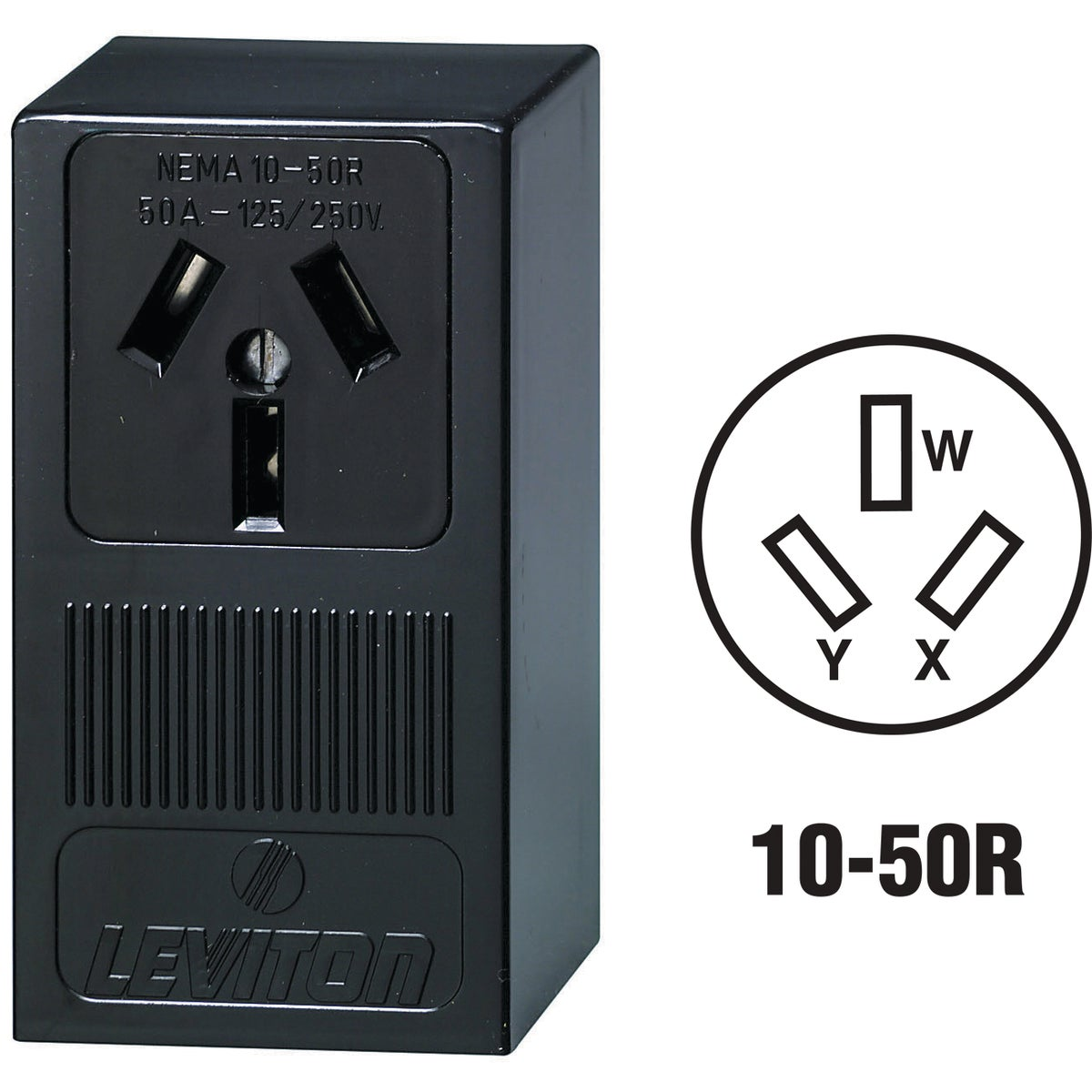 SURFACE RANGE OUTLET - 5050 by Leviton Mfg Co