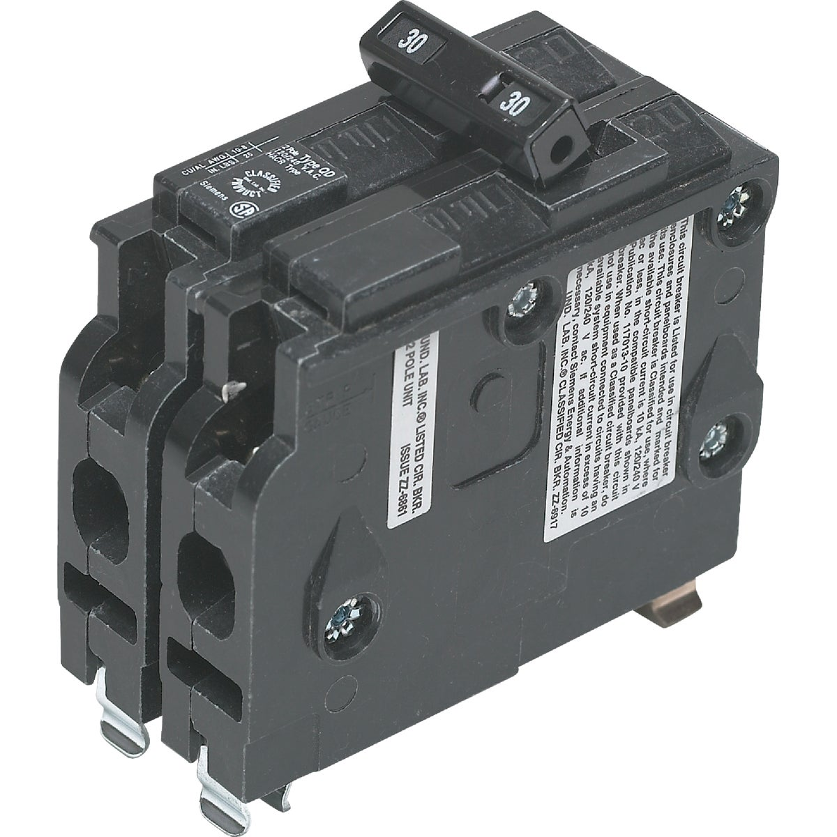 30A 2P CIRCUIT BREAKER - D230 by Connecticut Electric