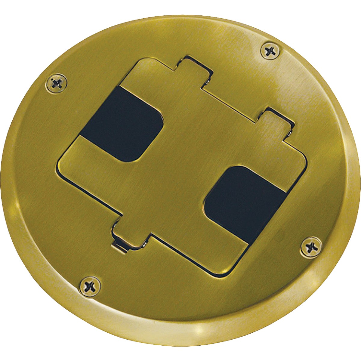 Brass Floor Box Kit