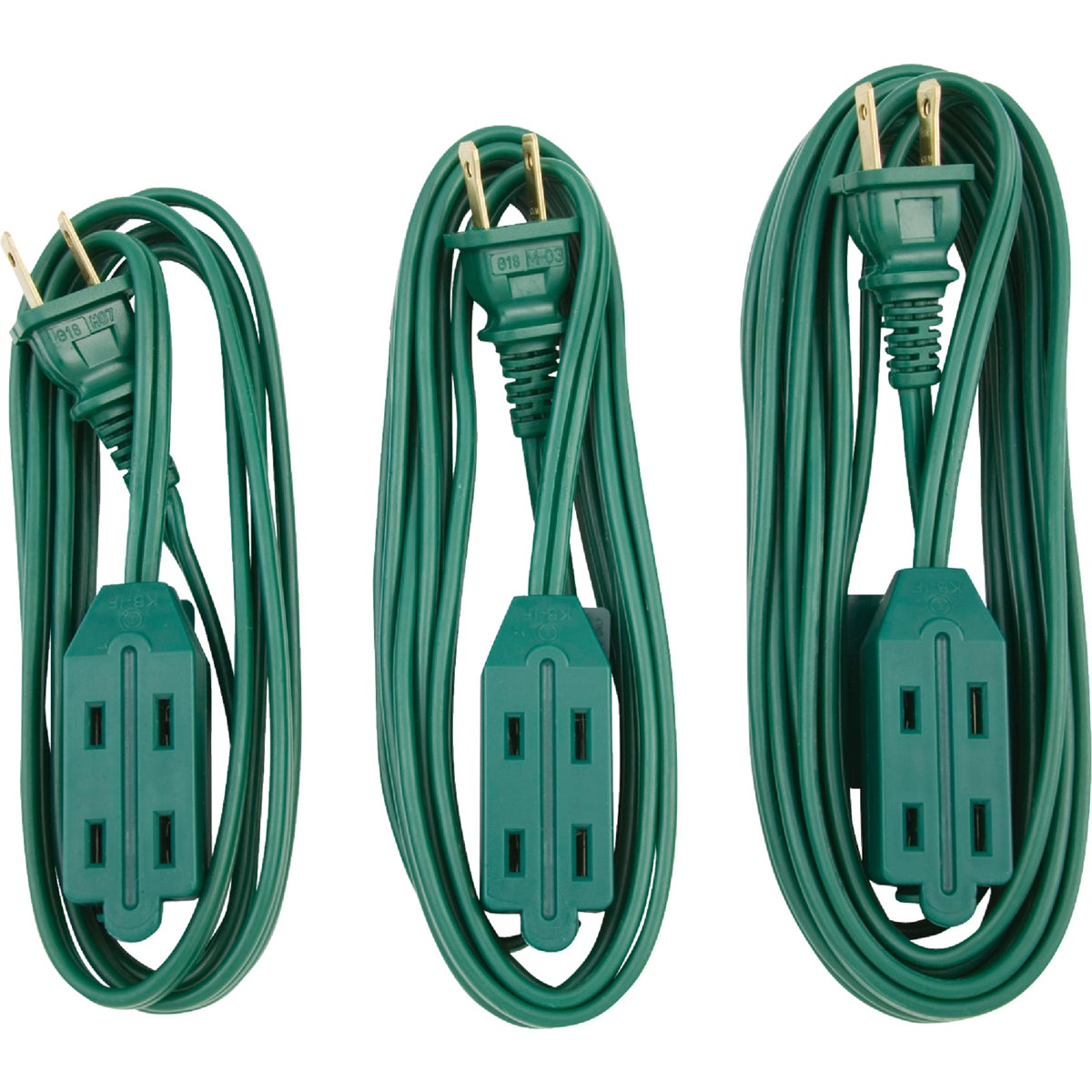 3PC 16/2 EXT SET CORD - IN-PT2162-3PK-GR by Do it Best
