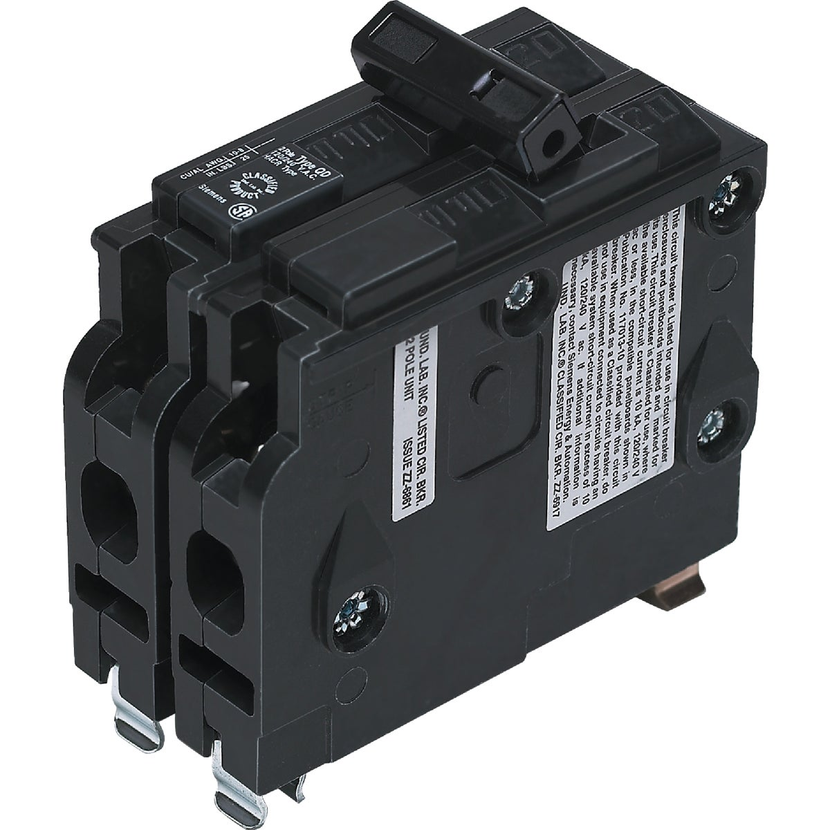 50A 2P CIRCUIT BREAKER - D250 by Connecticut Electric
