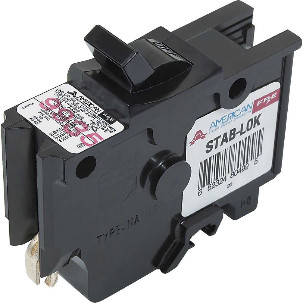 15A SP CIRCUIT BREAKER - UBIF15N by Connecticut Electric