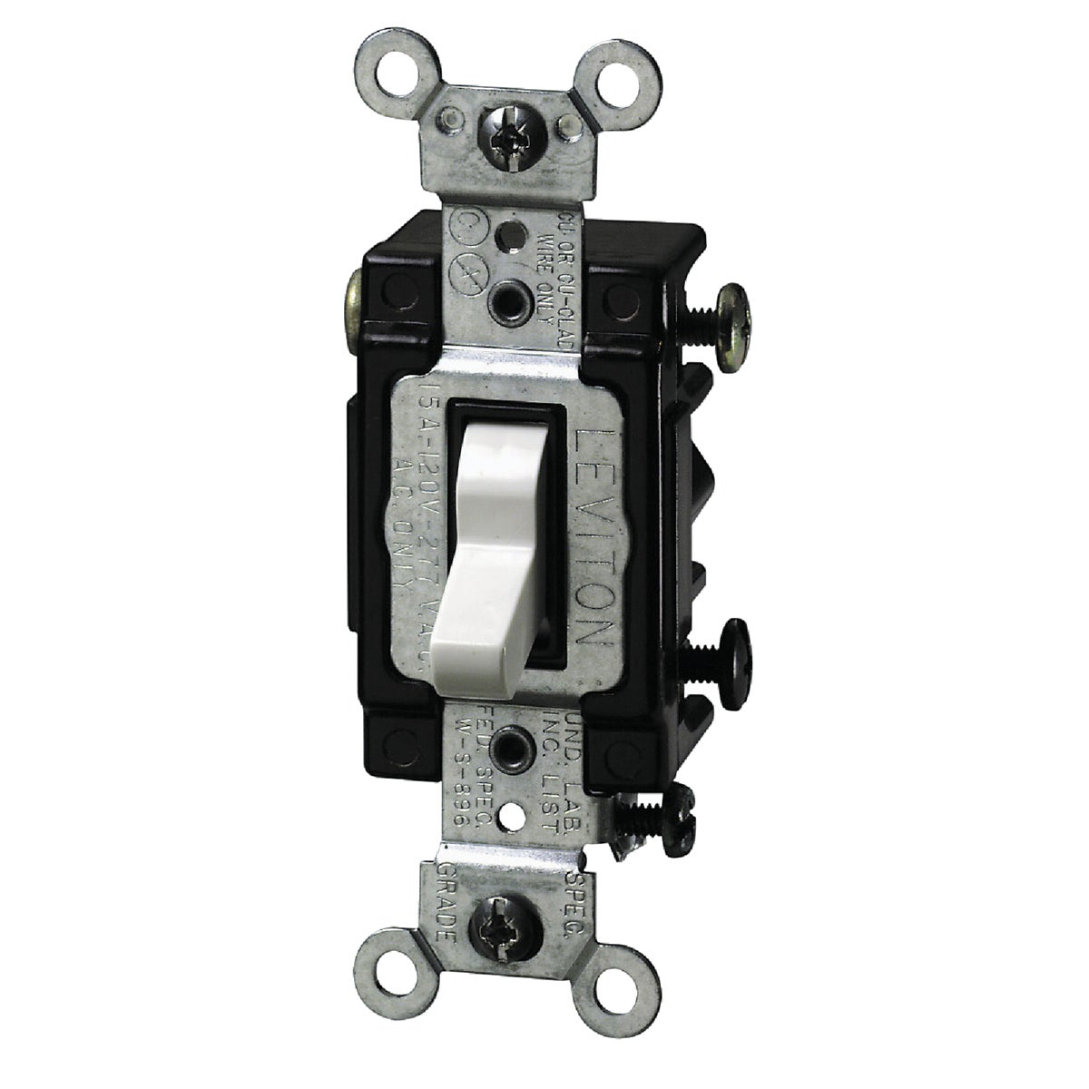 WHT 3-WAY LTD SWITCH - S02-5503-LHW by Leviton Mfg Co