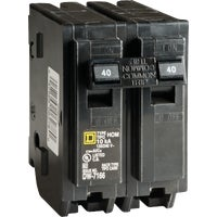 Square D Co. 40A 2POLE BREAKER HOM240CP