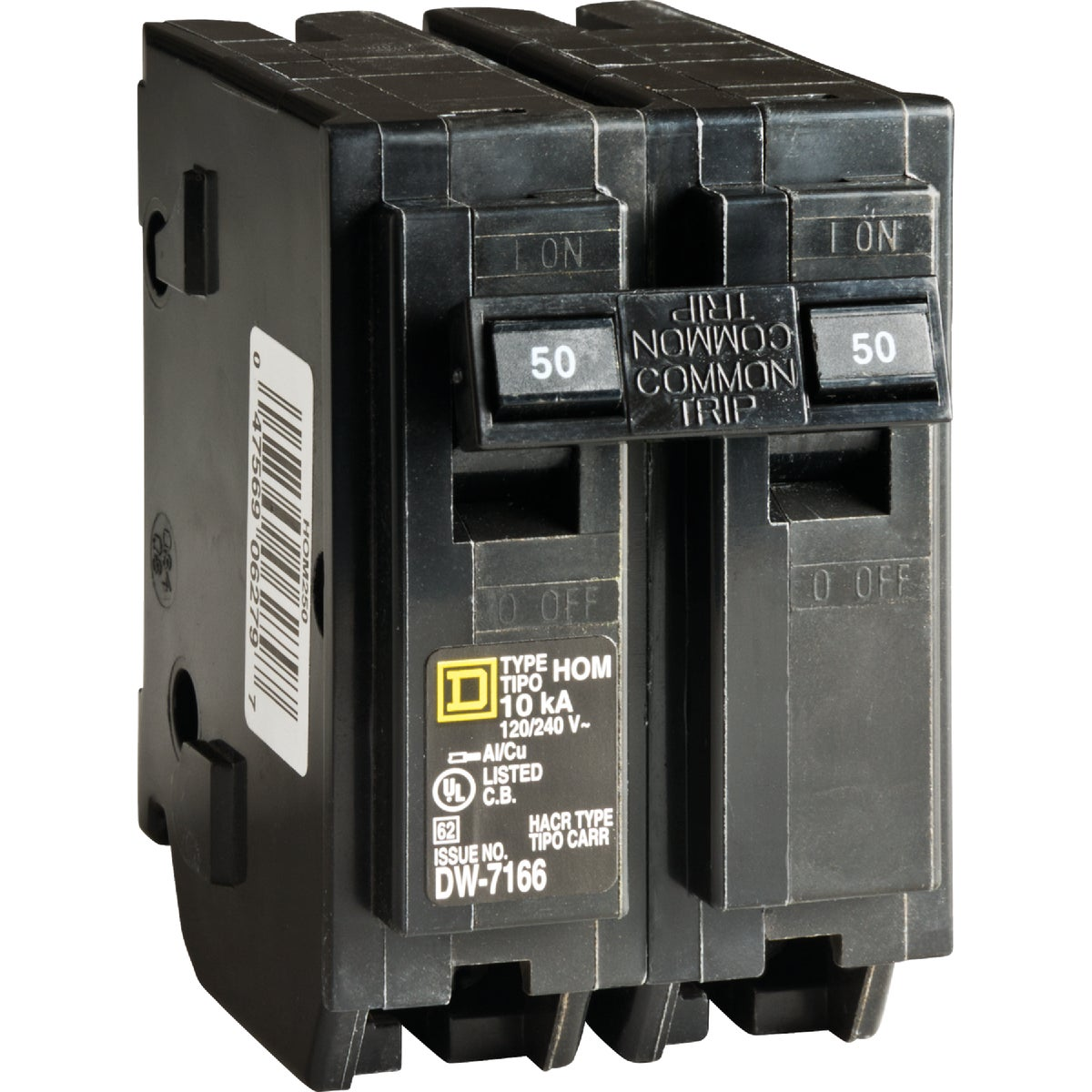 50A 2POLE BREAKER - HOM250CP by Square D Co