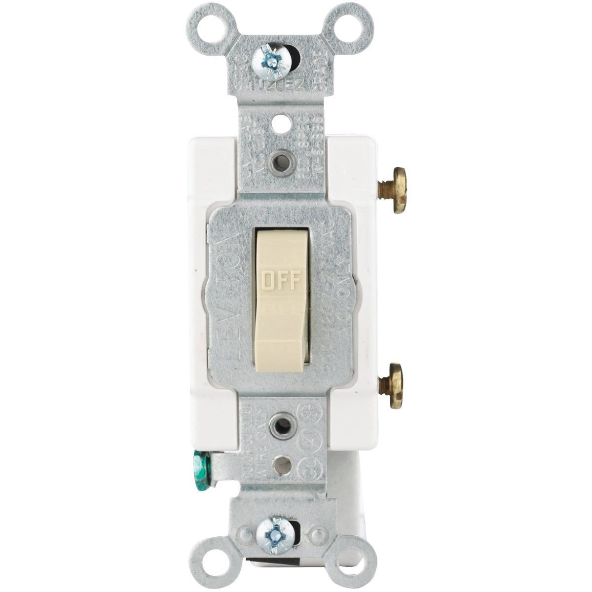 IV 1-POLE GRND SWITCH - S07-CS120-2IS by Leviton Mfg Co
