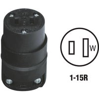 Leviton BLK CORD CONNECTOR 115CR
