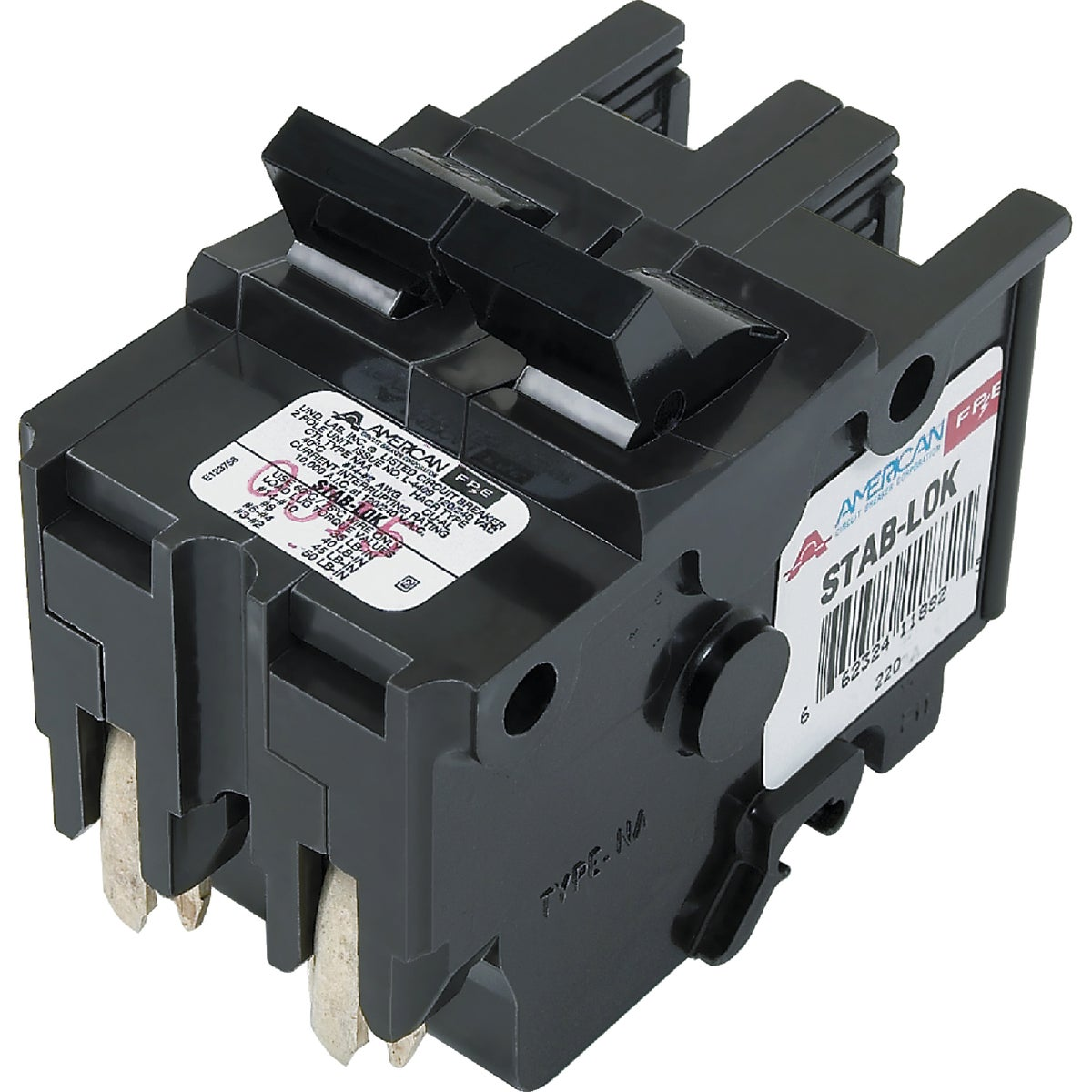 20A 2P CIRCUIT BREAKER - UBIF220N by Connecticut Electric