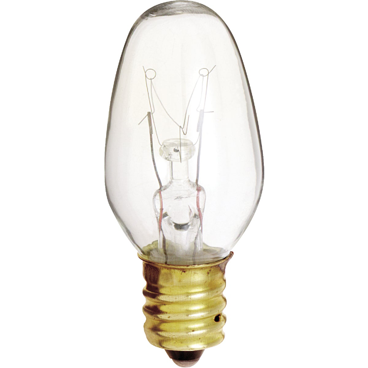 4W CLR NIGHT LIGHT BULB