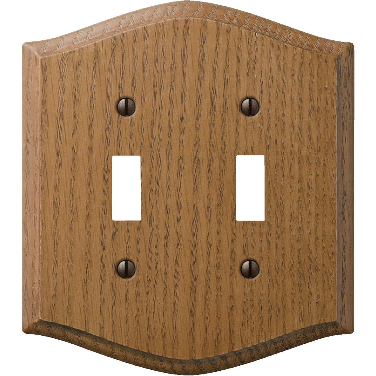 RED OAK 2-TOG WALL PLATE - 702 by Jackson Deerfield Mf