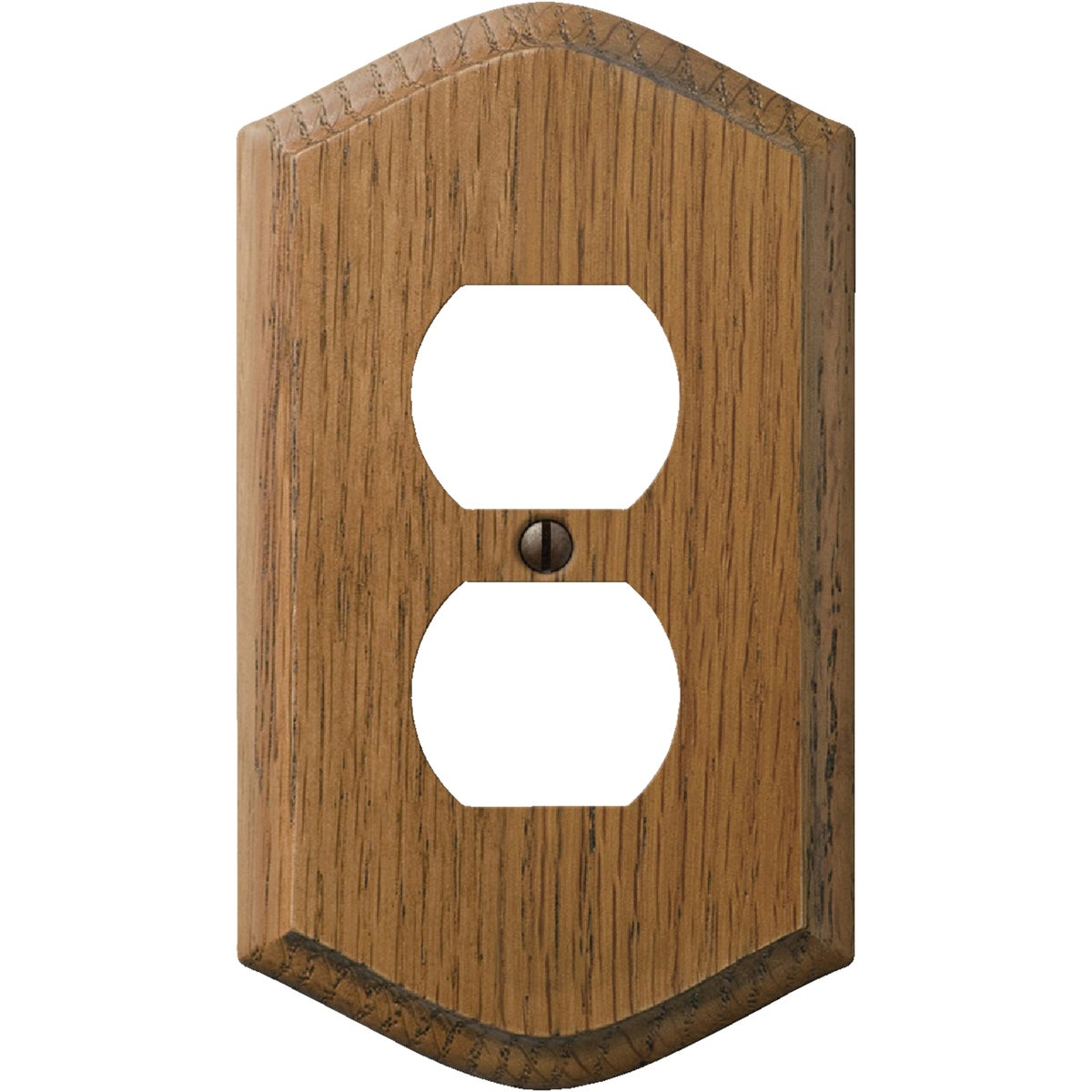 OAK OUTLET WALL PLATE - 708 by Jackson Deerfield Mf