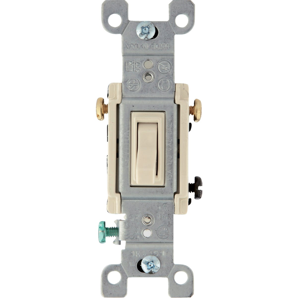 LT ALM 3 WAY SWITCH - 208-01453-02T by Leviton Mfg Co