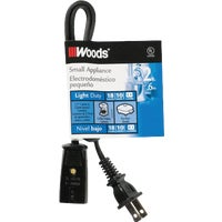 Woods Import 2' 18/2 APPLIANCE CORD 550293