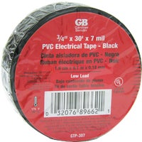 GB Electrical 10PK ELECTRICAL TAPE GTP-307