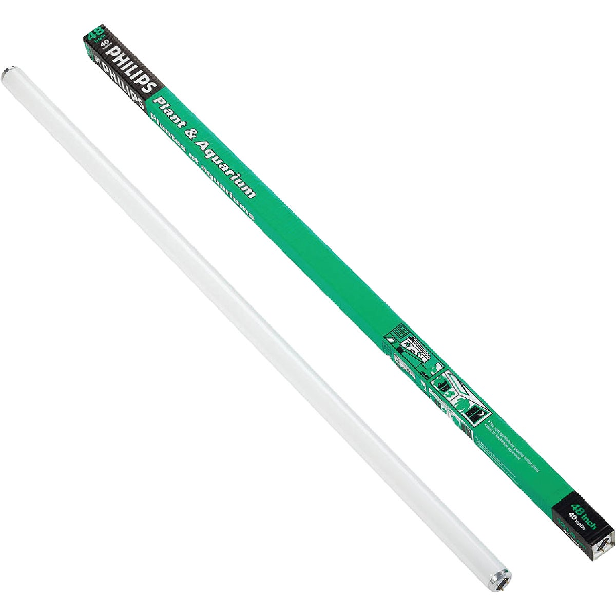 40W PLANT/AQUARIUM TUBE - 49893 F40PL/AQ by G E Lighting