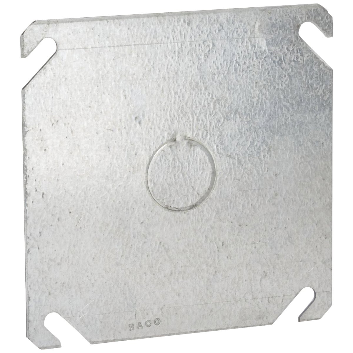 "4"" SQ 1/2"" KO COVER - 52C6 by Thomas & Betts"