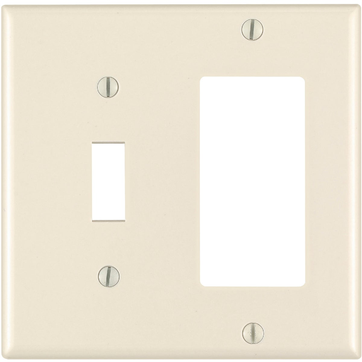 LT ALM GFI/TGL WALLPLATE - 007-80405-T by Leviton Mfg Co