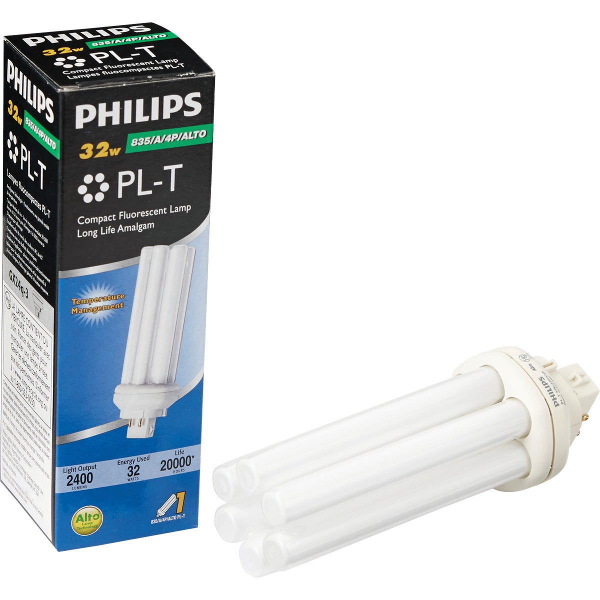 32W TRIP FLUOR TUBE - 97631 F32TBX835/A/ECO by G E Lighting