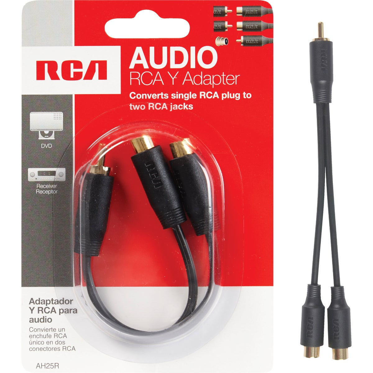 "3"" Y AUDIO CABLE"