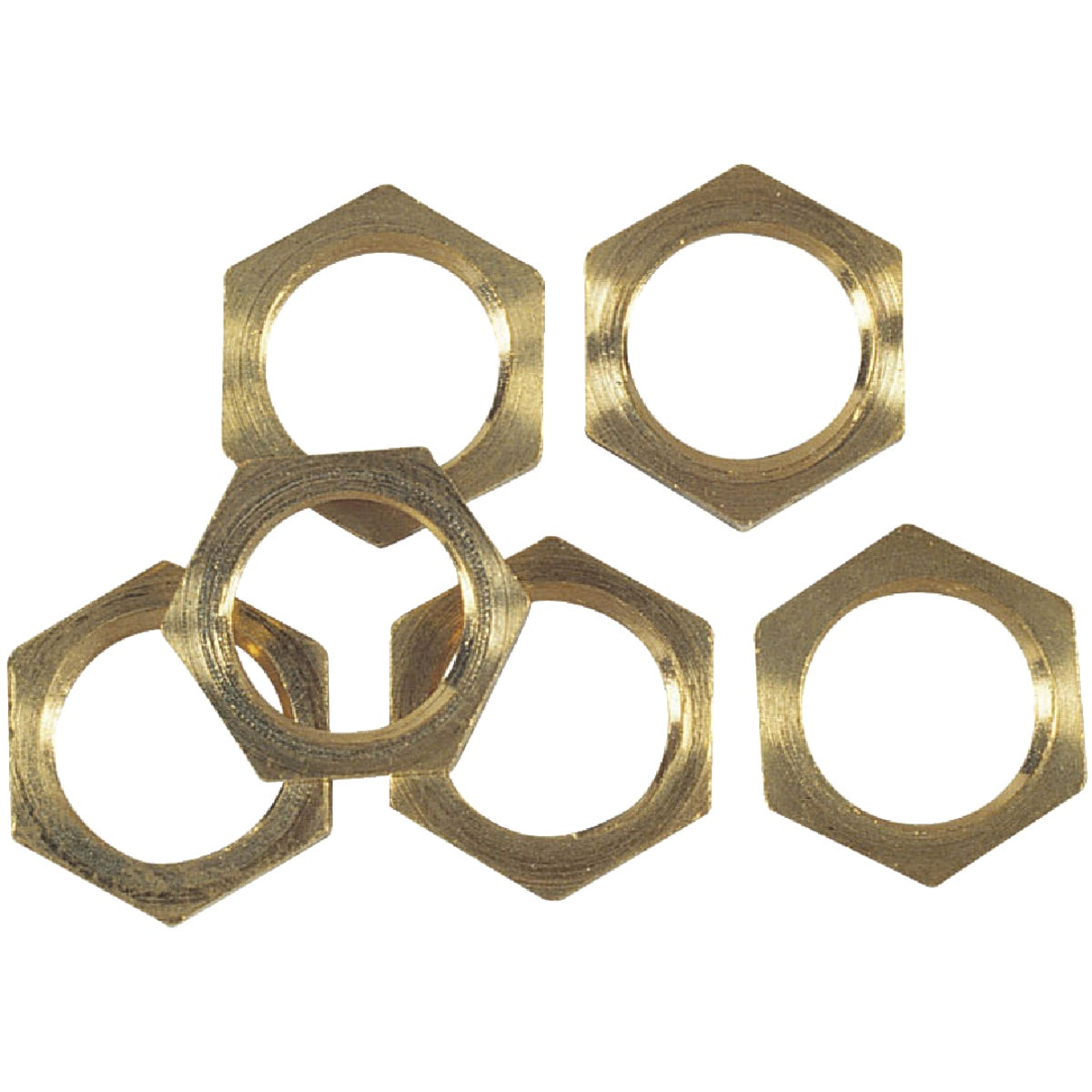 BRASS LAMP LOCKNUTS