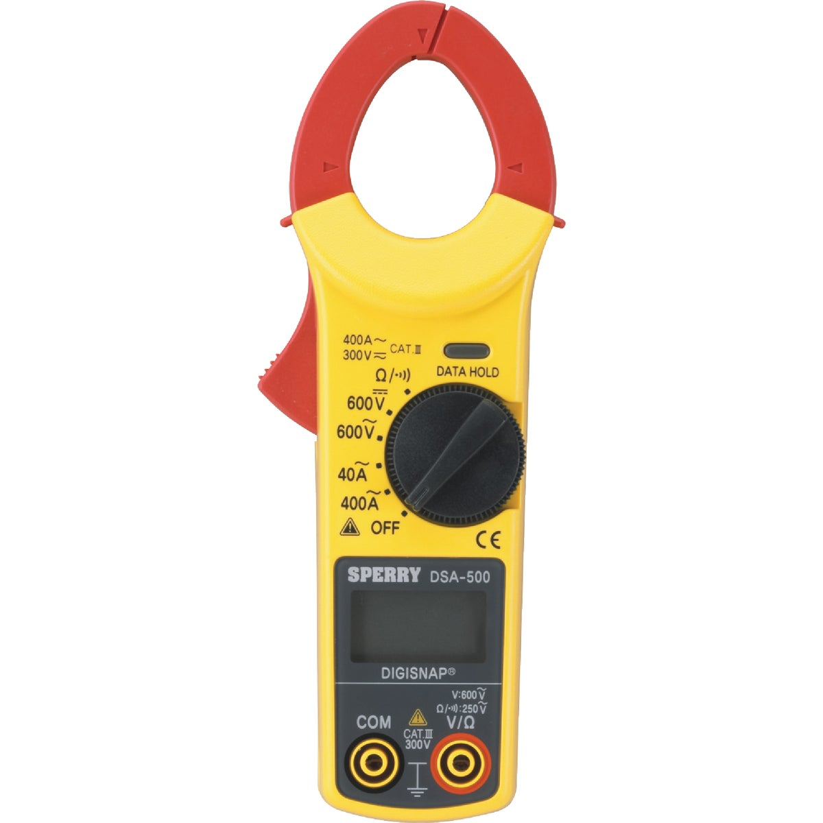 400A DIGITAL CLAMP METER - DSA500A by G B Electrical Inc