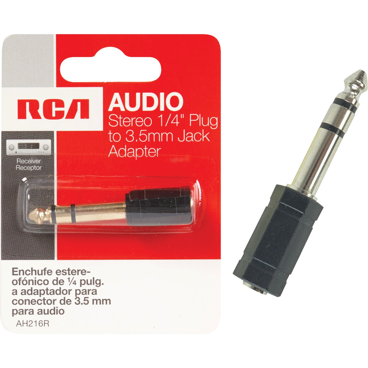 3.5MM STEREO ADAPTER - AH216R by Audiovox Accessories