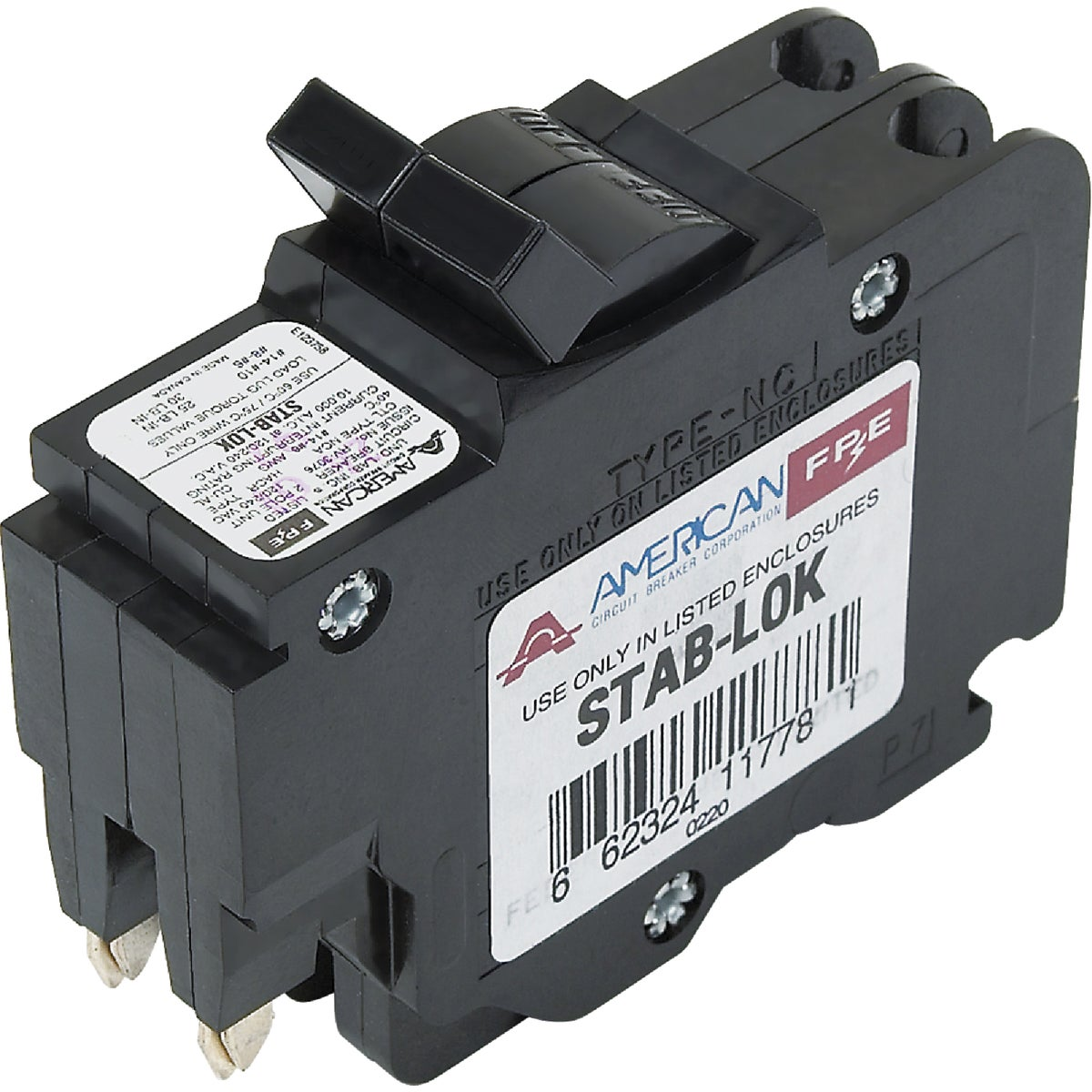 20A 2P CIRCUIT BREAKER - UBIF0220N by Connecticut Electric