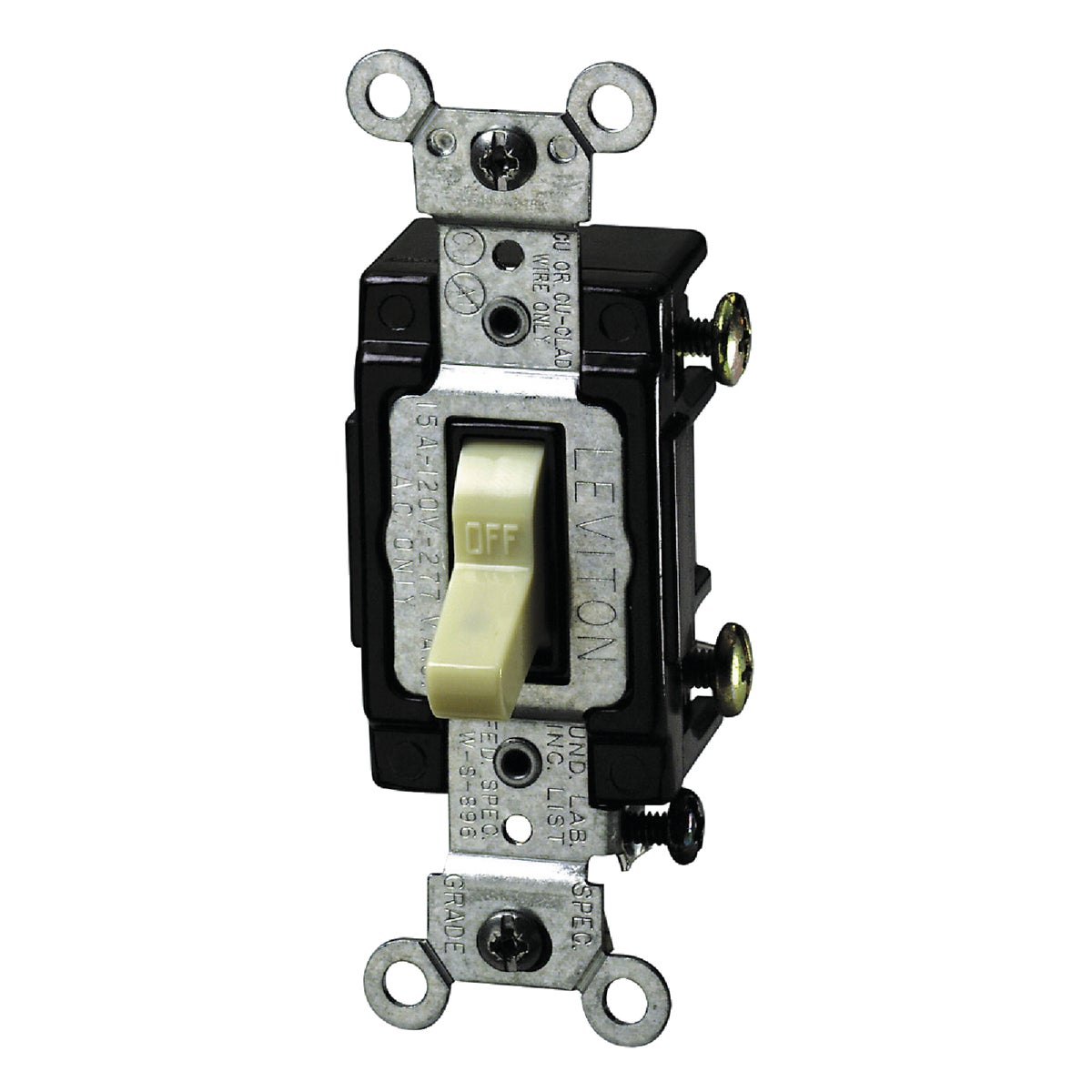 IV 1-POLE LTD SWITCH - S01-5501-LHI by Leviton Mfg Co