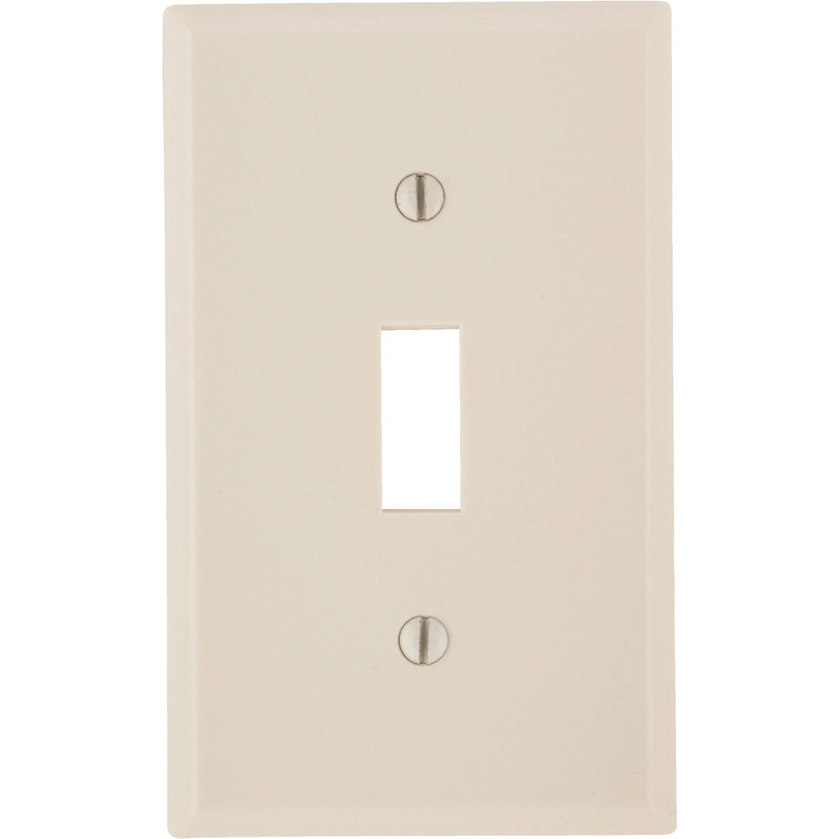 LT ALM 1-TGL WALLPLATE - 010-78001 by Leviton Mfg Co