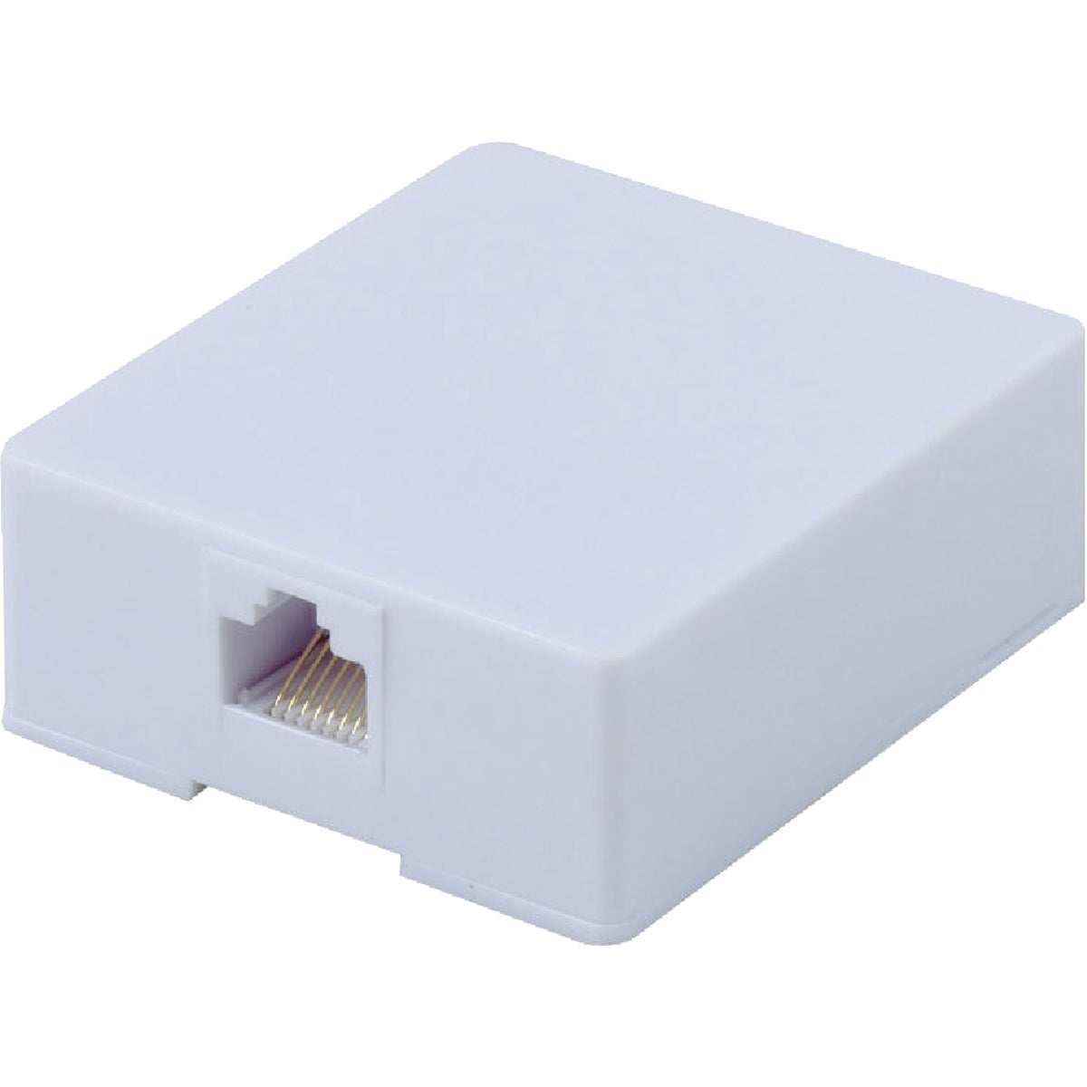 RJ45 WHITE SURFACE JACK - TP7410R by Audiovox Accessories
