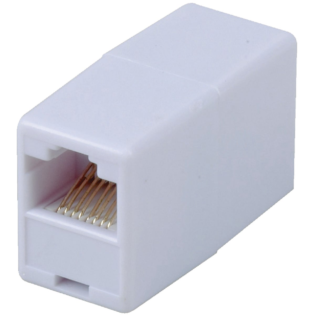 CAT5 RJ45 WHITE COUPLER - TPH550RV by Audiovox Accessories