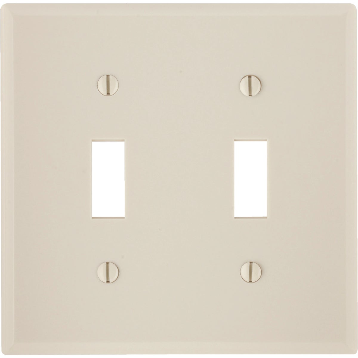 LT ALM 2-TGL WALLPLATE - 000-78009 by Leviton Mfg Co