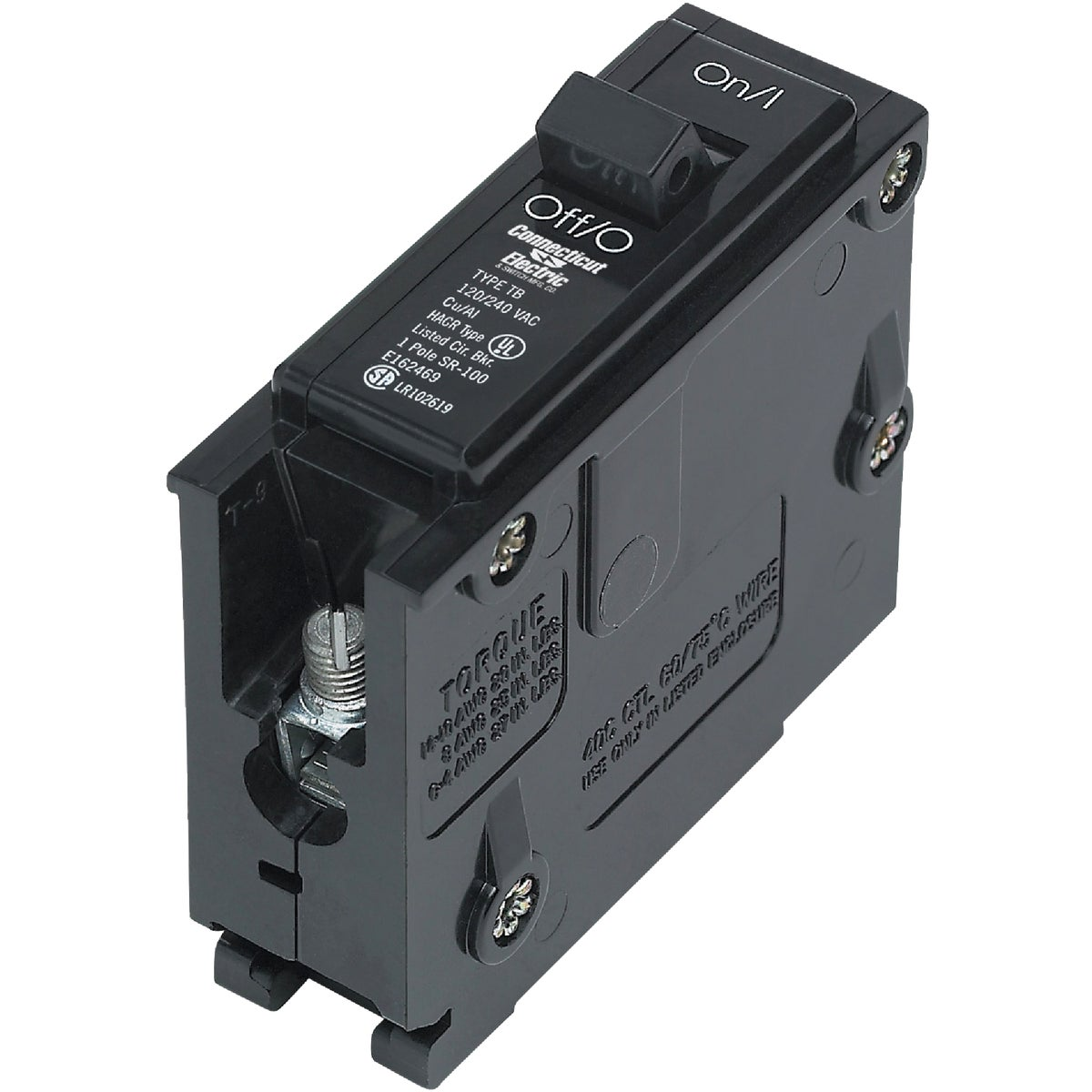 15A SP CIRCUIT BREAKER - ICBQ115 by Connecticut Electric