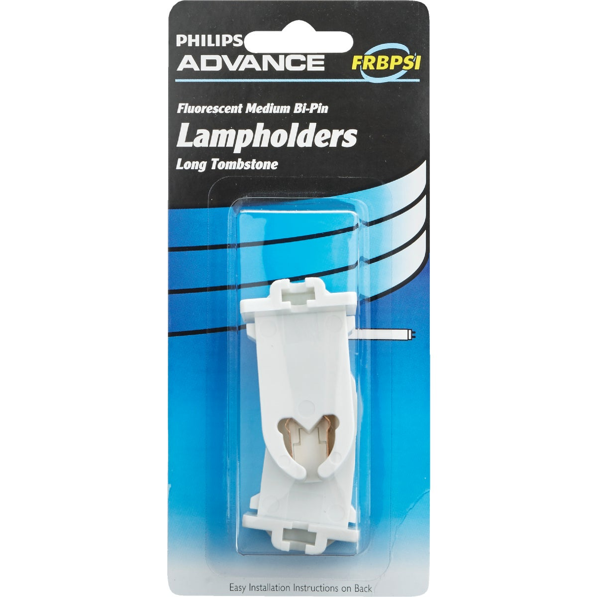 FLUORESCENT LAMPHOLDER - 64822 BP-LP/TP (80628) by G E Ballast