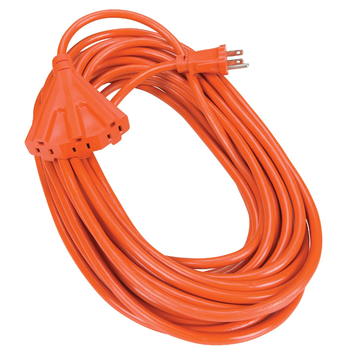 50' 14/3 TRIPLE TAP CORD - 550826 by Coleman Cable Import