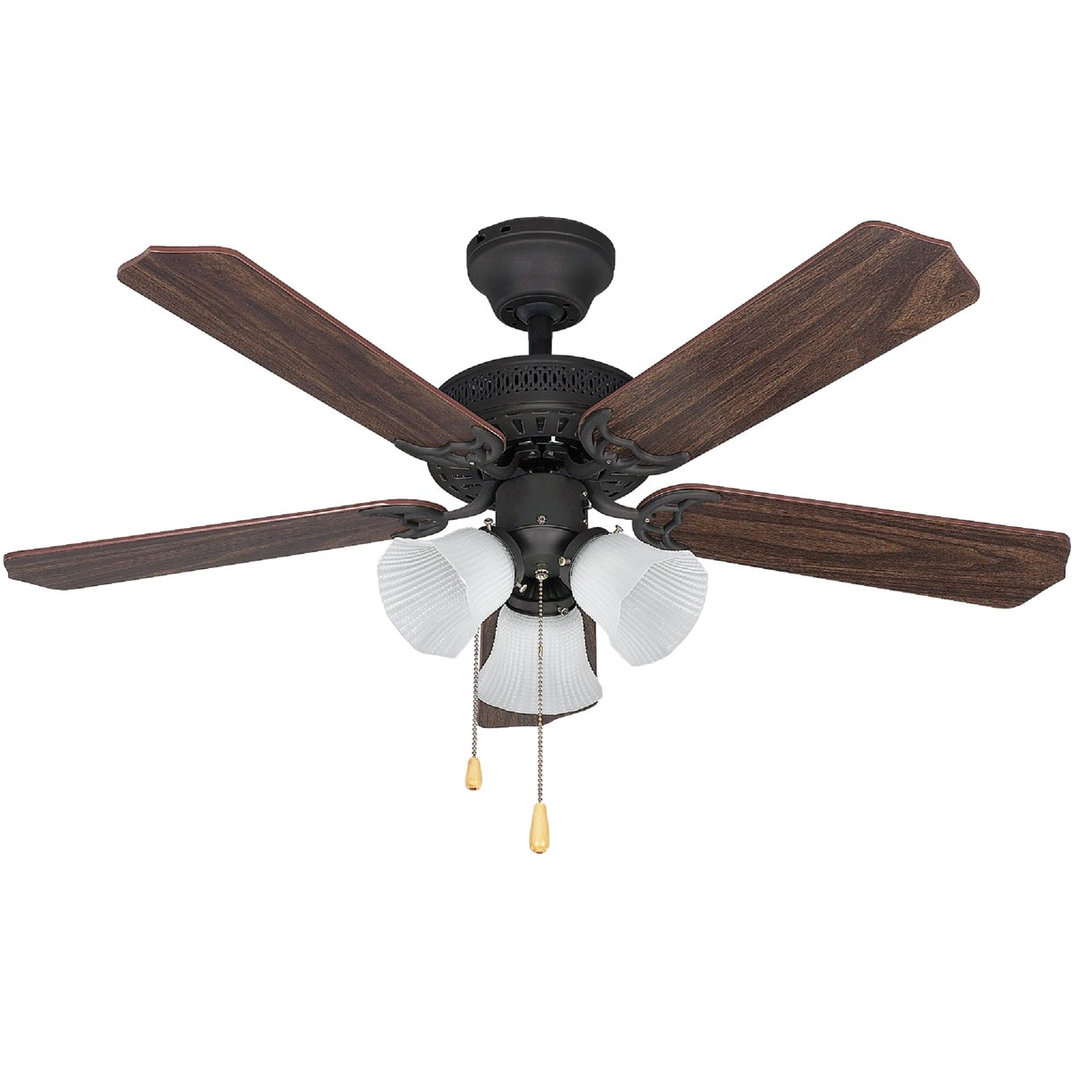 "42""TRAD ORB CEIL FAN"
