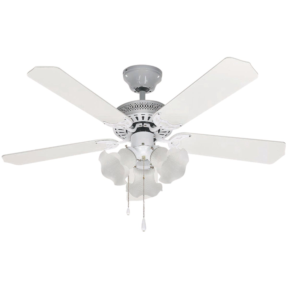 "42"" WHITE CEILING FAN - CF42TRA5WH by Canarm Gs"