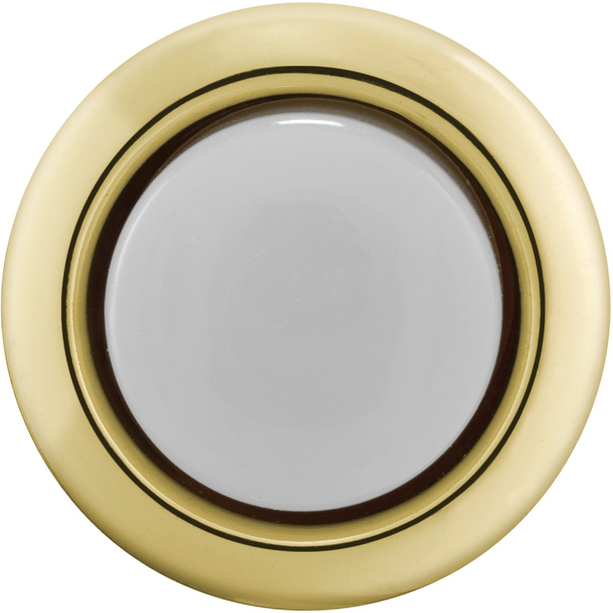 GOLD LIGHTED PUSH-BUTTON - DH1202L by Thomas & Betts