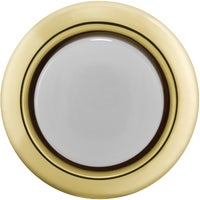 Thomas & Betts GOLD LIGHTED PUSH-BUTTON DH1202L