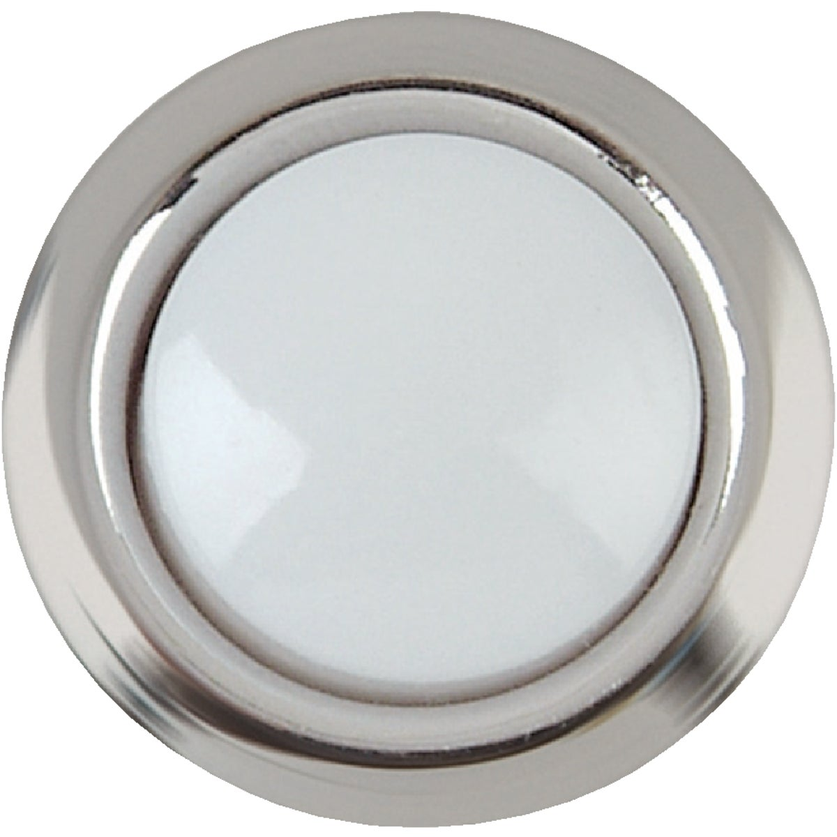 Slvr Lighted Push-Button