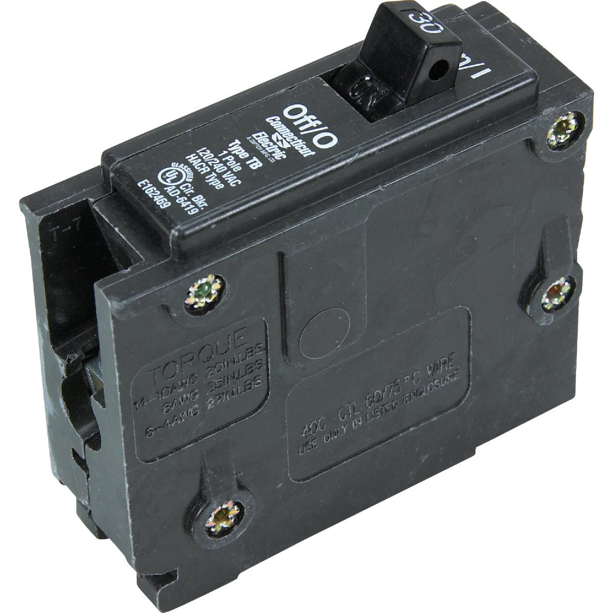30A SP CIRCUIT BREAKER - ICBQ130 by Connecticut Electric
